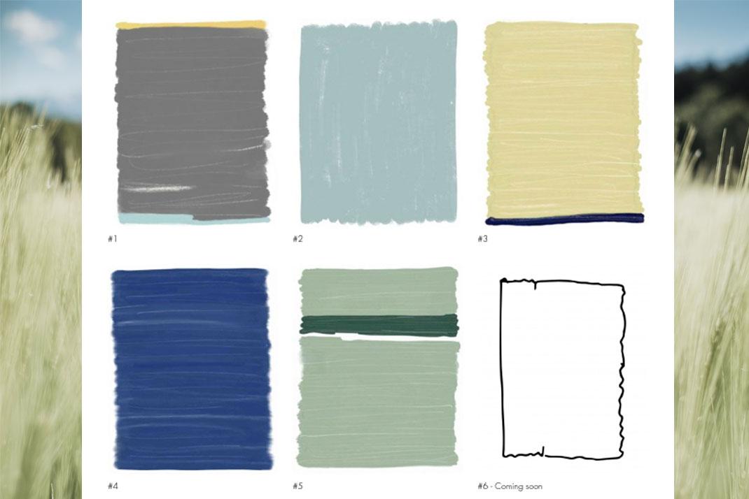 Kollektionsübersicht Reflecting Colours 1. Halbjahr